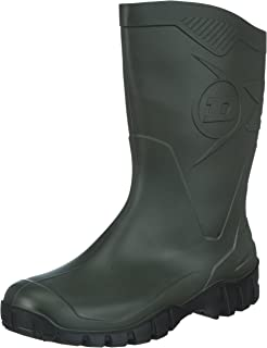 Dunlop Bottes en Caoutchouc Homme - Vert Foncé- 46 EU