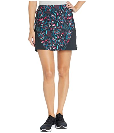 Skirt Sports Gym High-Waist Skirt (Rebel Fleur Print) Women