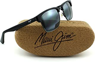 30a32f02f9c Maui Jim Gloss with Antique Pewter Frame Polarized Sunglasses (Neutral Grey  Lens, Black)