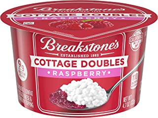 Breakstone's Cottage Doubles Raspberry & Cottage Cheese (4.7 oz Cup)