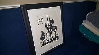 Pablo Picasso Framed Art Print Don Quixote Wall Decor