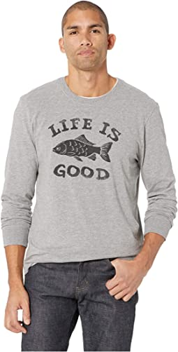 LIG Fish Crusher Long Sleeve T-Shirt