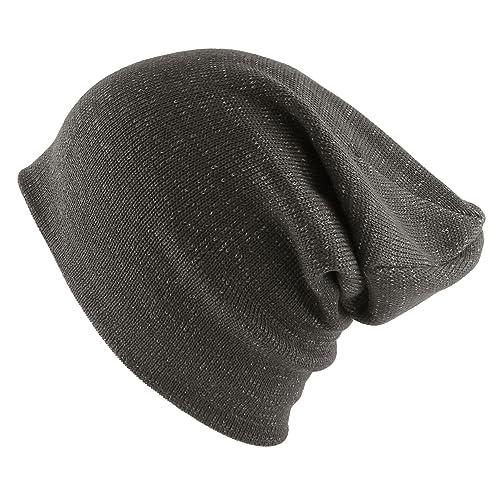 2e86820c2b3 Morehats Cotton Two Tone Slouchy Ski Skater Hip-hop Beanie Hat