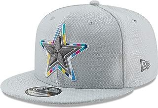 Dallas Cowboys NFL Mens New Era Crucial Catch 9FIFTY Cap, Gray, OSFM