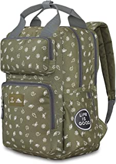High Sierra Life is Good Mindie Backpack - Fits Most 15-inch Laptop Models