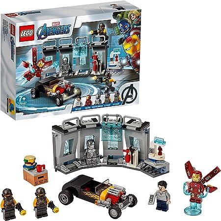 LEGO76167MarvelAvengersIronManArmory,HallofArmorExtensionSet