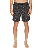Dolce & Gabbana - Mid Length Polka Dot Swimsuit Boxer w/ Bag