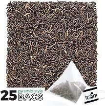 Tealyra - Orange Pekoe Ceylon - 25 Bags - Classic English Breakfast Black Loose Leaf Tea - Sri Lanka - Caffeine Bold - Organically Grown - 25 Sachets