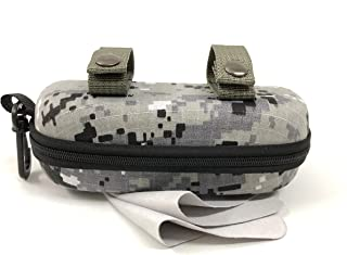 Eva Sunglasses Case Ultra Light Anti-pressure Excellent qulity Zipper with Carabiner for Glasses,Sports Eyewear & Goggles