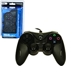 TTX PS2 Controller - Wired - New - Similar Functions of DualShock 2 - Black (TTX Tech) - PlayStation 2