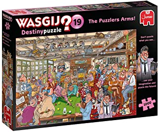 Jumbo, Wasgij, Destiny 19 - The Puzzlers Arms!, Jigsaw Puzzles for Adults, 1,000 piece