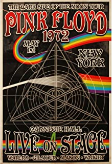 pink floyd 1972 poster