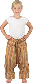 Nitya Design Pantalones harén para niños, diseño de rayas, tallas 86-146