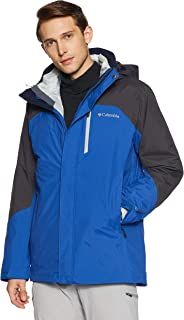 Columbia Men's Lhotse II Interchange Omni Heat Hooded Winter Jacket