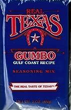 Real Texas Gumbo Gulf Coast Recipe Seasoning Mix 3 ounce (4 Pack)