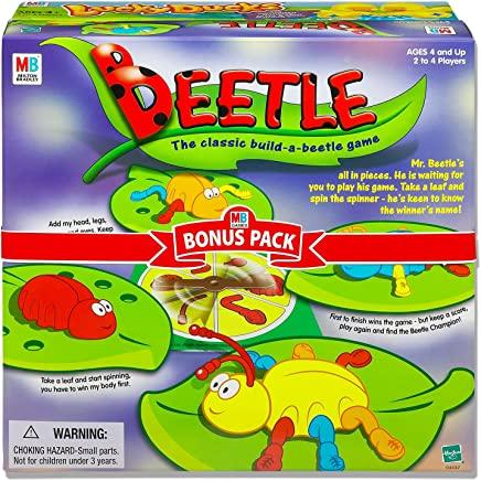Beetle - Build a beetle - 2 to 4 Players - Kids Toys & Board Games - Ages 4+