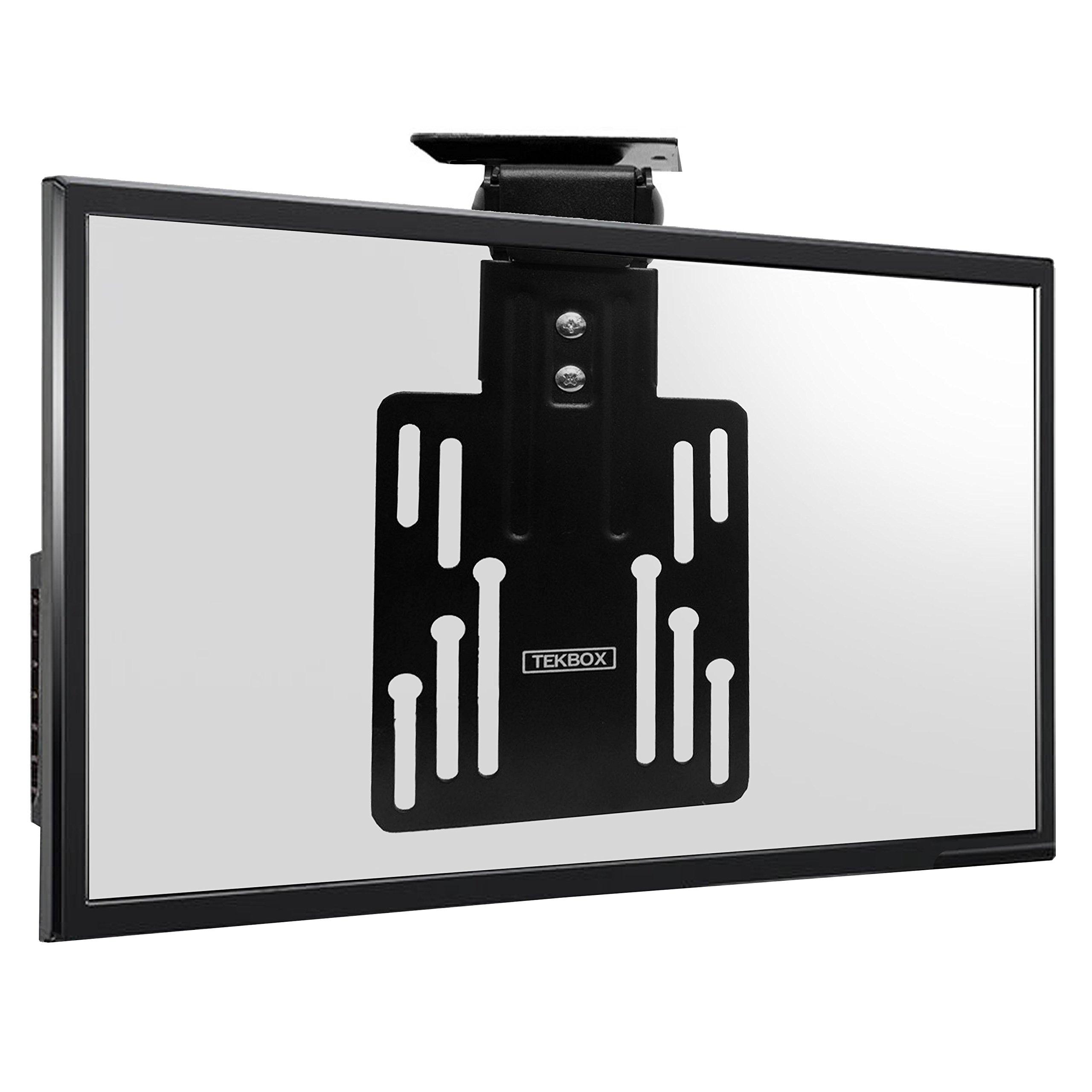 Tekbox - Soporte de techo plegable para televisor LCD LED de plasma de 50 x 50, 75 x 75 y 100 x 100: Amazon.es: Electrónica