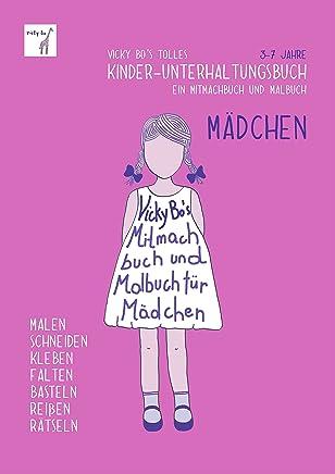 KinderUnterhaltungsbuch ädchen itachbuch und albuch 37 Jahre by Vicky Bo