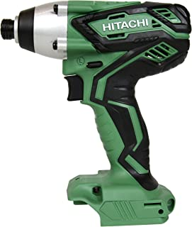 HITACHI WH18DGL Impact Driver 1/4-inch Hex Drive (Bare Tool - No Battery, Charger or Case) (Certified Refurbished) …