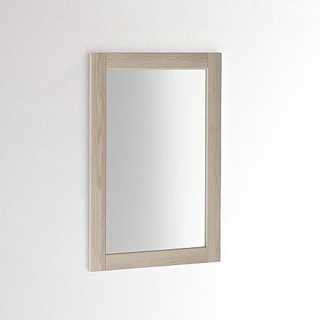 taupe fabriqu/é en Italie. ARHome Miroir mural 90 x 60 cm