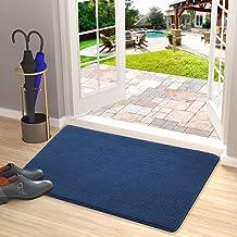 Door Mat Outdoors Indoor Rug Inside Front Outdoor for Entryway20 X32,Blue