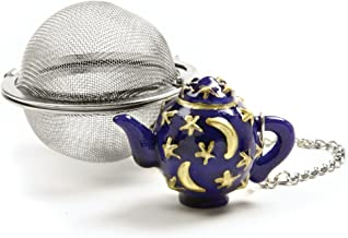 Norpro Stainless Steel 2-Inch Mesh Tea Infuser Ball with Teapot Weight, One Size, Silver