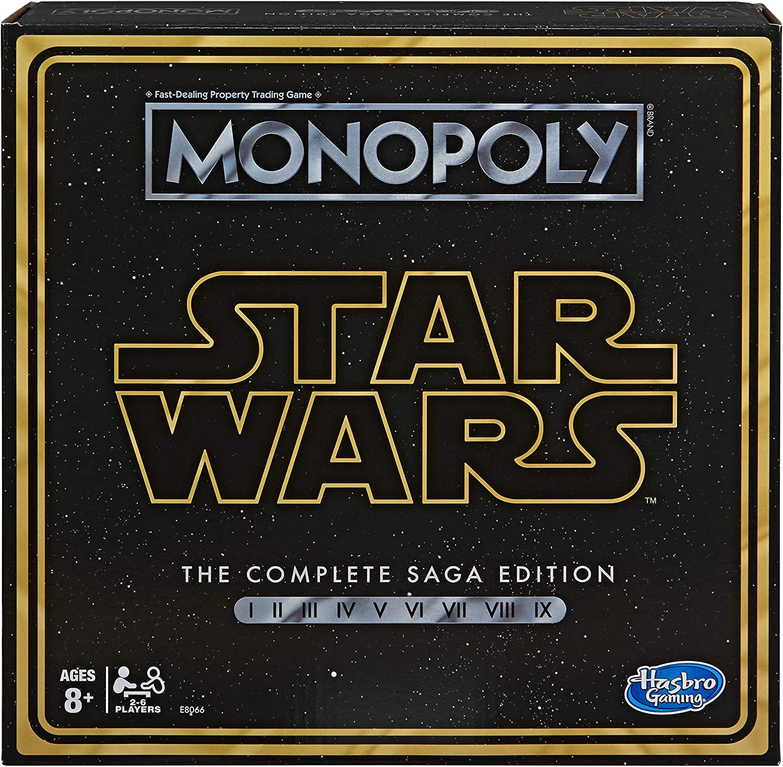 12. MONOPOLY: Star Wars Complete Saga Edition Board Game