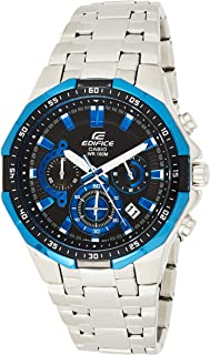 Casio Mens Quartz Watch, Analog Display and Stainless Steel Strap