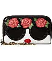 Alice + Olivia - Avril Stace Face Flowers Small Wallet