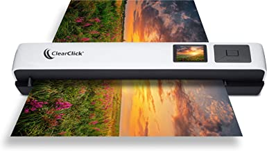 "$149 » ClearClick Photo & Document Scanner with 1.45"" Preview Screen - Ultra Portable - No Computer Required - Scans in Just Seconds"