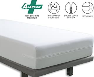 Tural – Funda colchón anti ácaros Impermeable y