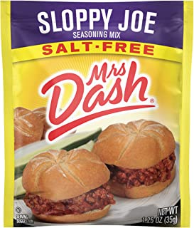 Mrs. Dash Seasoning Mix, Sloppy Joe, 1.25 Ounce (Pack of 12)