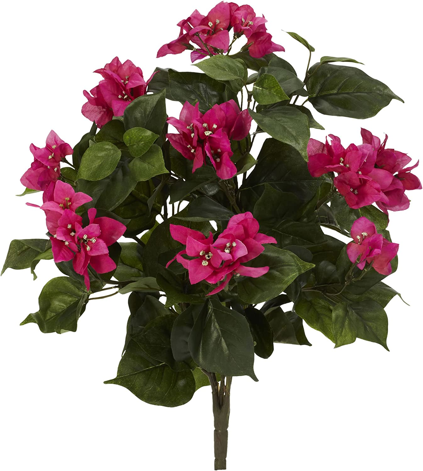 """Nearly Natural 6070-S3 20"""" Bougainvillea (Set of 3) Artificial Plant, Pink"""