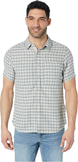 Aere Short Sleeve Button Up Shirt