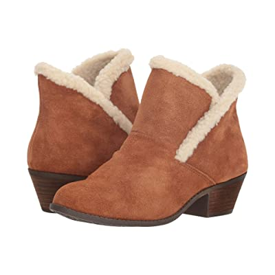 Me Too Zanna (Luggage Oiled Suede/Shearling) Women