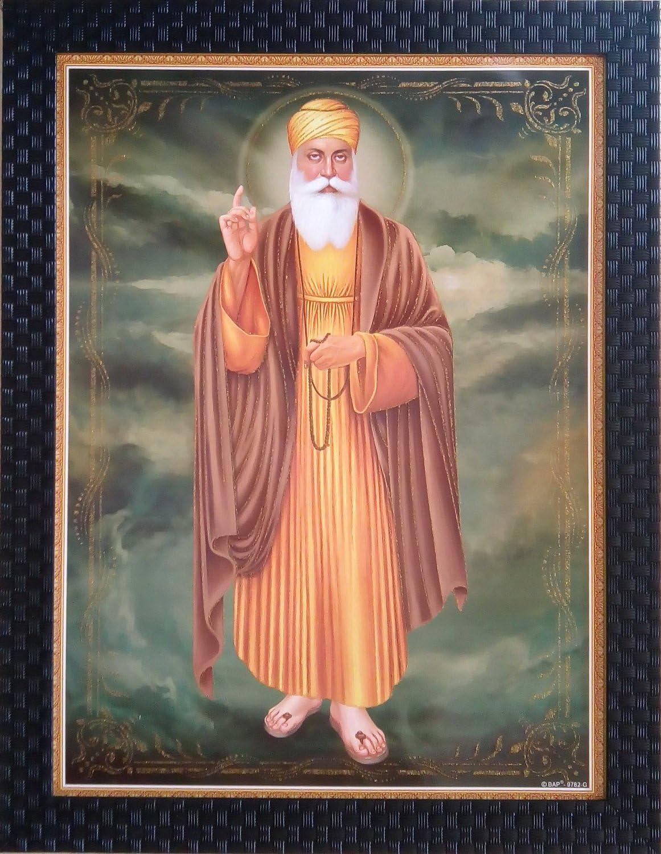 Shree Handicraft Guru depot Nanak Dev Religious Fram Max 40% OFF Ji Sikh Gurunanak