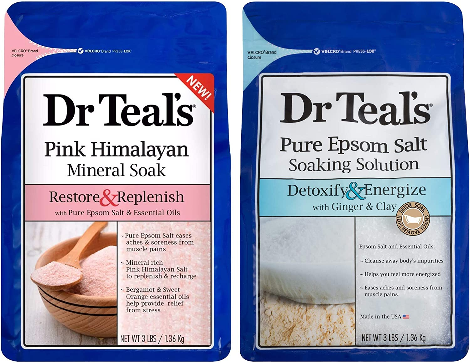 Dr Teal's Epsom Salt Bath Cheap mail order Japan's largest assortment shopping Combo 6 Pack Total lbs Restore Re