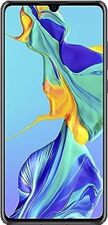 Huawei P30 mobiele telefoon, 128 GB, zwart, Android 9.0 (Pie), Dual SIM (Refurbished)