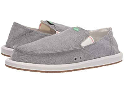 Sanuk Pick Pocket Chambray (Charcoal Chambray) Men