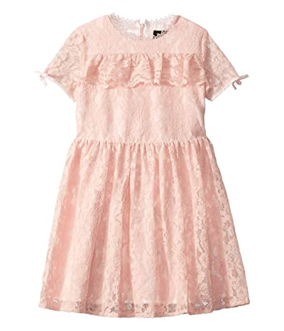 Bardot Junior Milly Lace Dress (Big Kids) (Blush) Girl