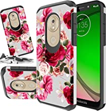Red Floral Phone Case Compatible For [ T-Mobile Revvlry 5.7