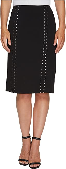 Pencil Skirt with Studs