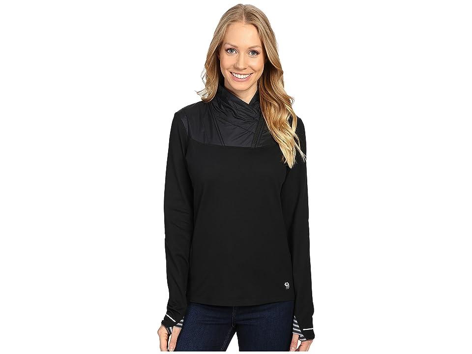 Mountain Hardwear 32deg Insulated 1/2 Zip (Black) Women