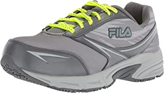 Women's Memory Reckoning 8 Slip Resistant Steel Toe Running Shoe Food Service