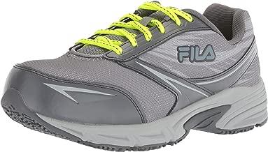 Fila Women's Memory Reckoning 8 Slip Resistant Steel Toe Running Shoe Food Service