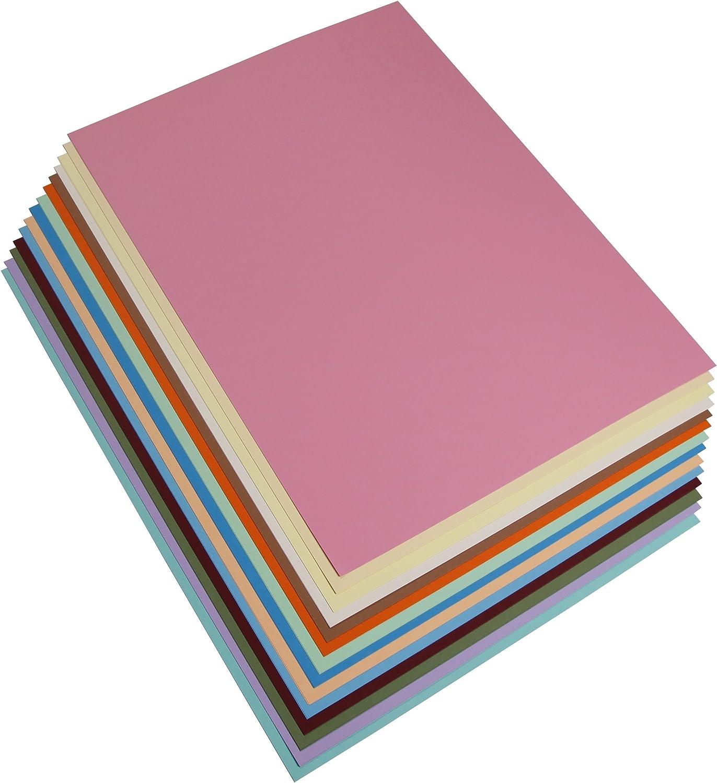 Clairefontaine 97299C Fotokarton Pack, 28 Bögen Premium, 50 x 70 cm, 300 g, Sortierung, 14 pastellfarben B004HE9A8I   | Gewinnen Sie das Lob der Kunden