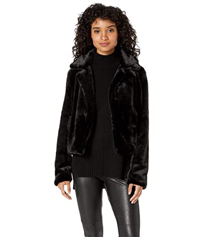 Blank NYC Faux Fur Crop Jacket in Uptown Girl (Uptown Girl) Women