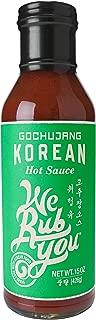 We Rub You Korean Hot Sauce, Gochujang, 15 OZ