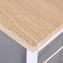 Verwijderbare kleine lades opbergrek plank 4 lagen ijzeren frame woonkamer opbergplank witte huishoudelijke benodigdheden ...