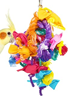 82026 Xtra Small Mardi gras Bird Toy Parrot cage Toys Cages African Grey Conure Cockatiel